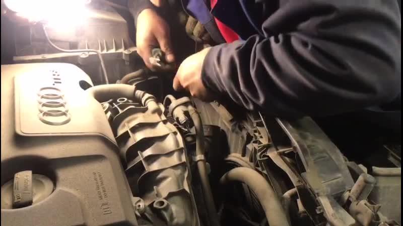 Ремонт капота Audi A4. Часть 5
