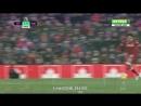 на Энфилде суета египетский меси забивает свой 25 гол в бпл
