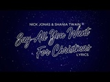 Nick Jonas &amp Shania Twain - Say All You Want For Christmas (Lyrics)