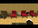 MineCraft мод на мебель в MineCraft 1.5.1 (Jammy Furniture)
