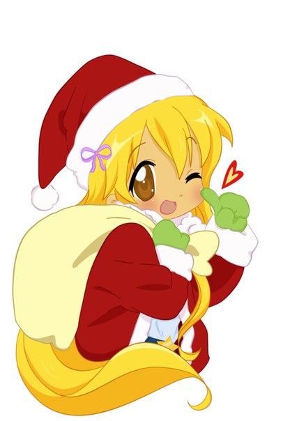 Рождественские игры и картинки winx club!