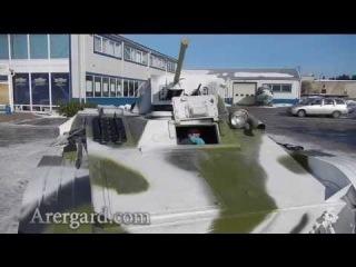Тест драйв отреставрированного советского танка Т-60 / Test drive a restored Soviet tank T-60