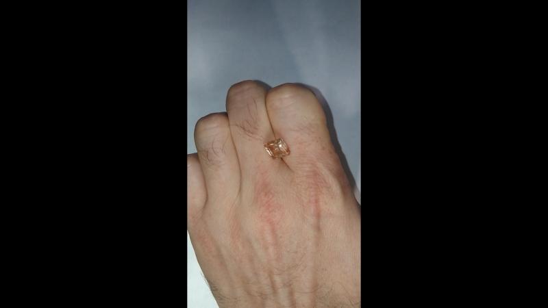 Орегонский солнечный камень. Огранка Алексея Комарова. На продажу. 3.45 карата. 11.310.17 мм. Не леченый. Другие работы по хэш