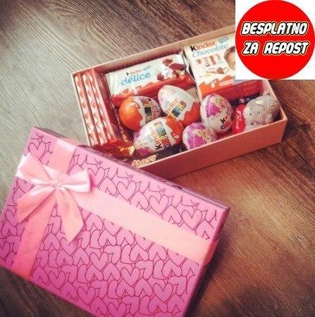 Красивая коробочка для сладостей