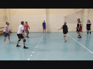 - Волейбол, Бабино-Хохряки , на спартакиаде ветеранов в.Завьялово.
