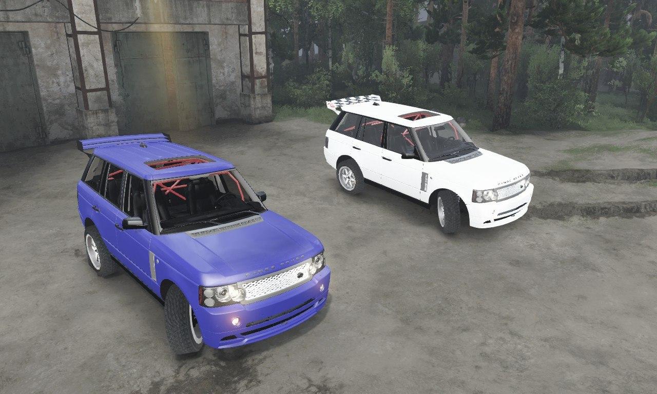 Range Rover Sport для 03.03.16 для Spintires - Скриншот 2