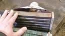 Отопление гаража своими крюками heating novelty