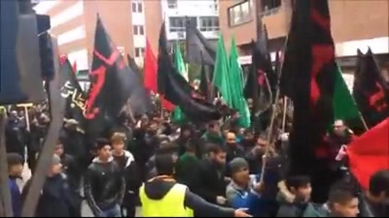 Schweden Muslime marschieren für die Scharia