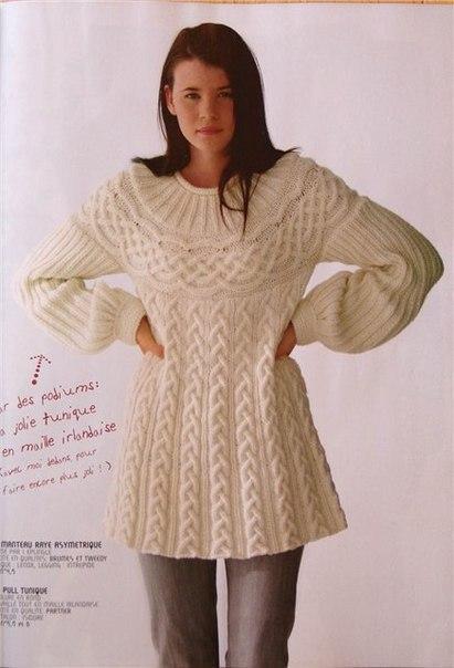 Вязание спицами теплые модели для женщин