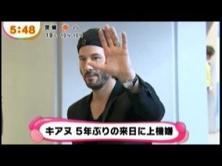 Keanu Reeves visited Japan キアヌリーブスが来日
