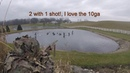 Ohio Goose hunt 1 man limit with a 10 gauge