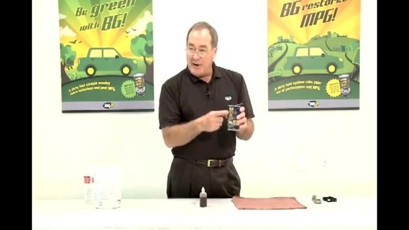 BG 110 - тест с серной кислотой на руки