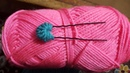 Amazing button with hair bobby pins trick hand embroidery design new trick