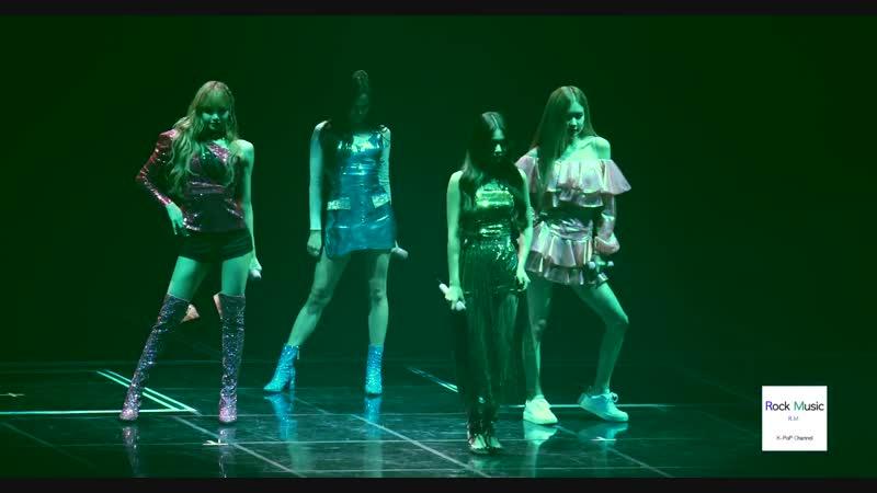 181111 BLACKPINK - KISS AND MAKE UP BLACKPINK WORLD TOUR in Seoul (Fancam)