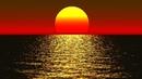 Расслабляющая музыка для отдыха от усталости Теплый закат Океан