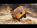 RC Trucks Camel Trophy Crawling - MST CMX chassis D90 body