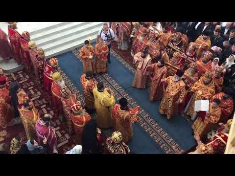 Sf. Liturghie la mănăstirea cu hramul Sf. Ioan de la Suceava din satul Crasna 15.06.2018