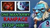 RAMZES666 ONE MAN ARMY RAMPAGE Phantom Lancer Highlights by Time 2 Dota #dota2