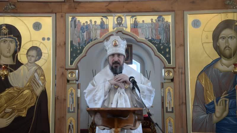 Проповедь митрополита Савватия в неделю 35-ю по Пятидесятнице, отдание праздника Богоявления