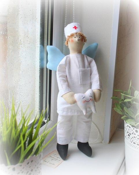Ангел — Стоматолог (3 фото) - картинка
