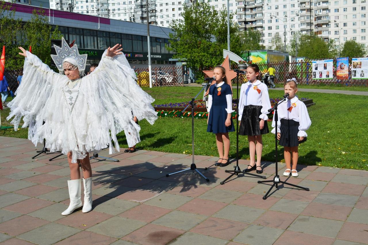 праздник годовщины Дня Победы в Ивановском