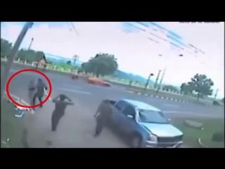 Шок! Призрак таиландца, погибшего в аварии!