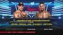WWE 2K14 - John Cena vs Randy Orton Undisputed Championship TLC
