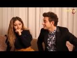 Перевод интервью Руджеро и Кароль в Италии «Soy Luna Live» 2 часть (рус.суб)