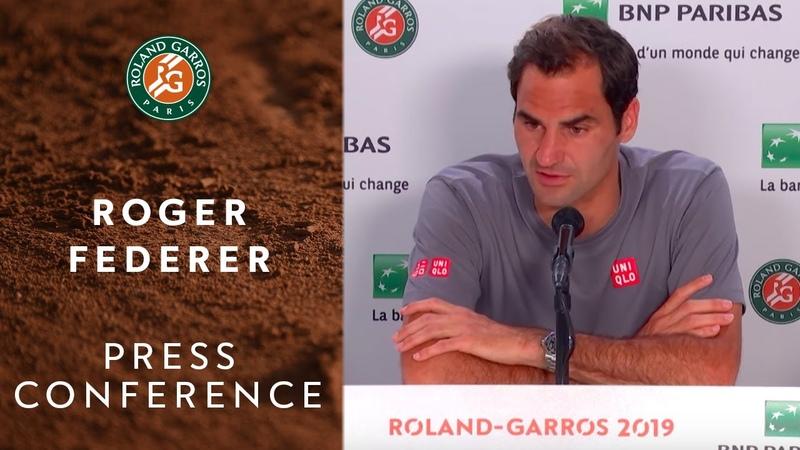 Roger Federer - Press Conference after Round 4 | Roland-Garros 2019