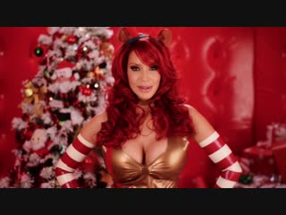 Bianca Beauchamp Naughty Naked Xmas 2012 ( erotic эротика fetish latex фетиш playboy model модель milf big boobs pussy )