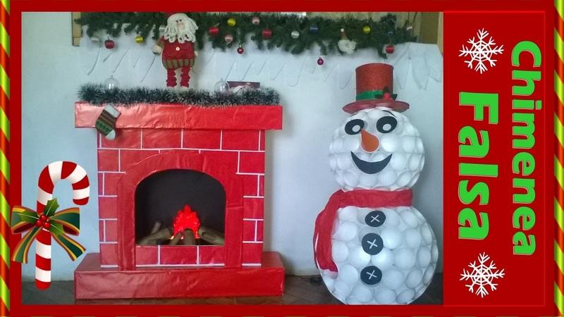 Chimenea Falsa - Navidad