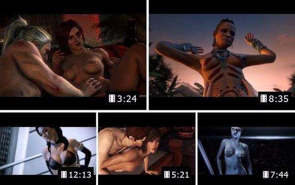 Секс сцены в играх топ 10