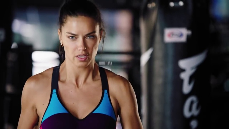 Victoria Sport – Adriana Lima On Working Out