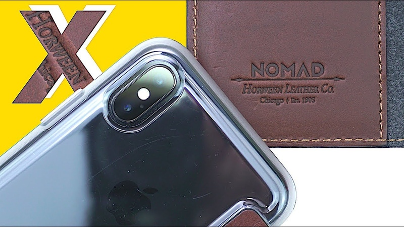 NOMAD Cases for iPhone X | Genuine Horween Leather Folio