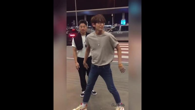 Chame_NamPeung Instagram Good Luck Oppa selfflight leejunki leejoongi