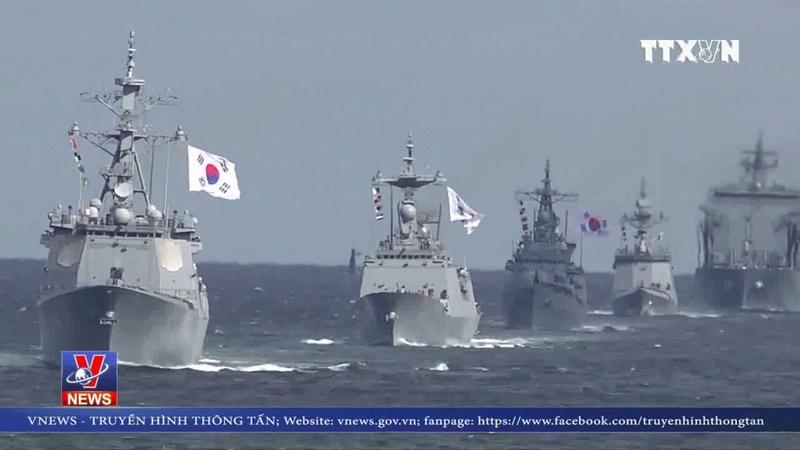 Hàn Quốc tổ chức lễ duyệt binh hạm đội quốc tế