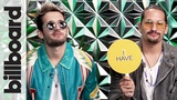 Mau y Ricky Reveal if They Have Been in Handcuffs in 'Never Have I Ever' Billboard
