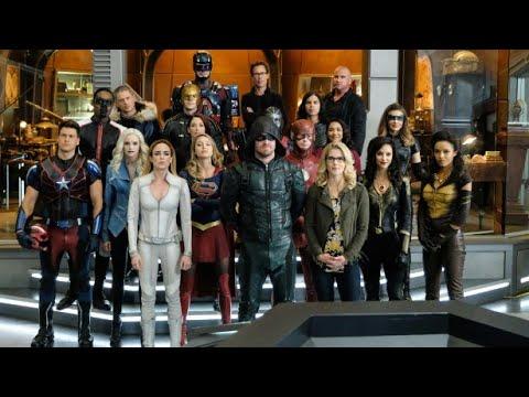 Легенды Команда Стрелы Команда Флэша и Супергёрл против нацистов с Земли Х Кризис на Земле Х
