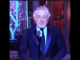 Роберт де Ниро послал Трампа на вручении кинопремии Тони