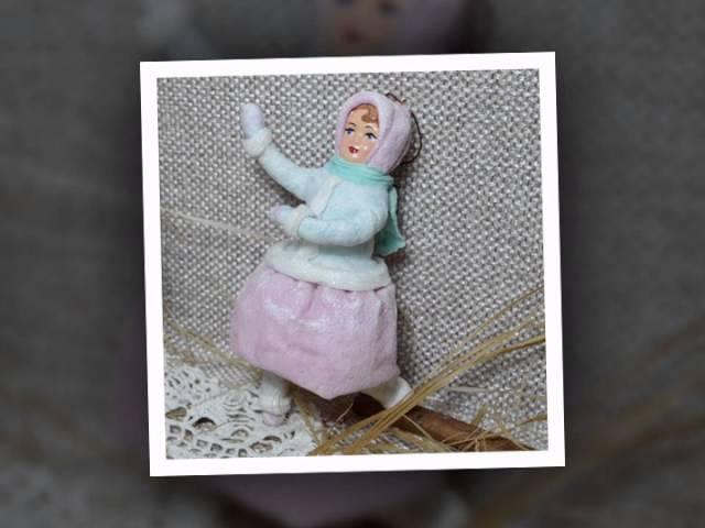 Ватные игрушки. Елена Васько. альбом работ.