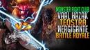 Elder Dragon Battle Royale Nergigante VS Teostra VS Vaal Hazak Monster Hunter World Fight Club