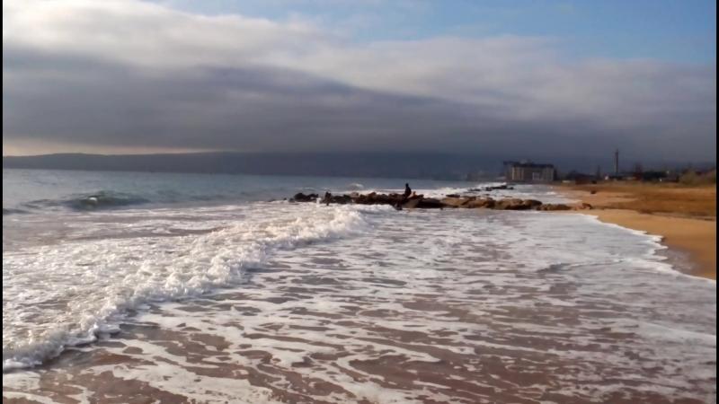 Феодосия-Приморское. Пляж у клуба 117.