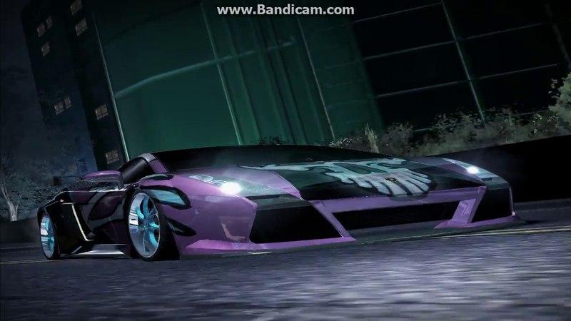 Битва команд на Lamborghini Gallardo NFS Carbon