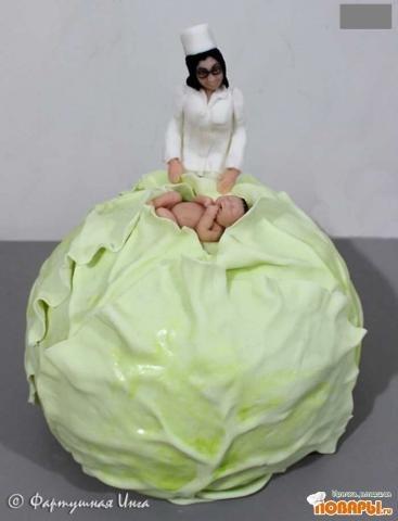 Торт для акушеров