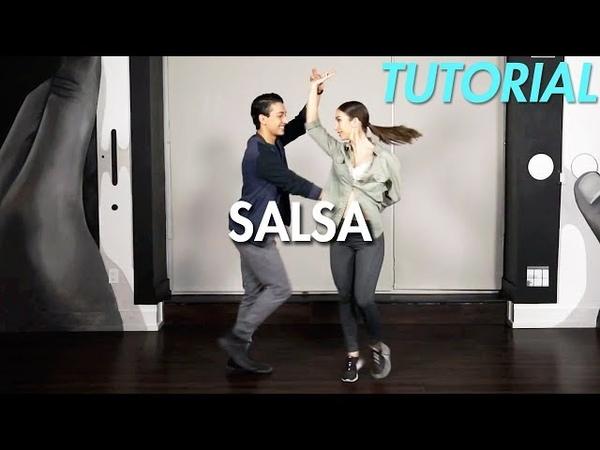 How to Salsa: Quick Salsa Combo - Part 1 (Ballroom Dance Moves Tutorial)   MihranTV