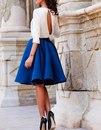 Платья в прекрасном синем цвете
