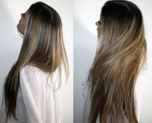 Отрастить длинные волосы - профессиональные