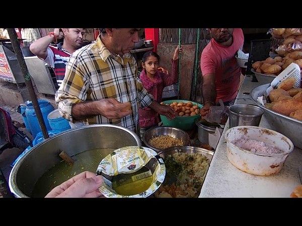 Уличняа еда Индии. Снова ПАНИ ПУРИ