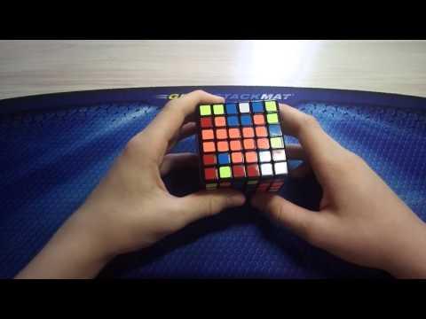 Как собрать кубик рубика 6х6