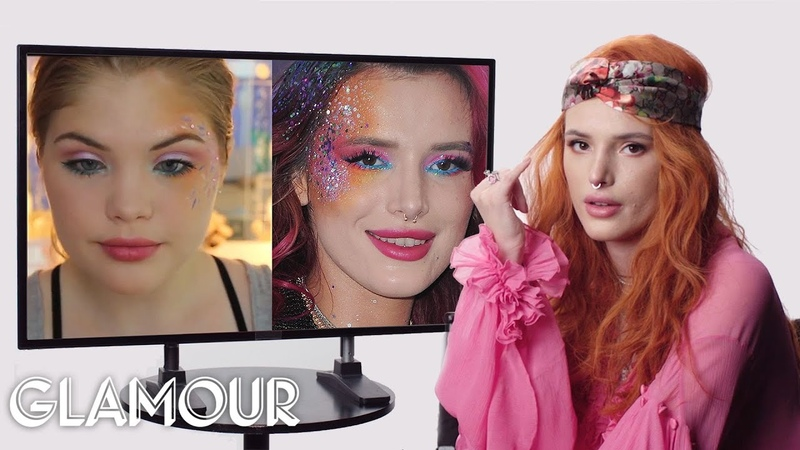 Bella Thorne Fact Checks Beauty Tutorials on YouTube | Glamour